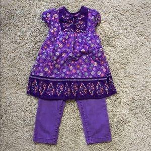 Girls size 24 months matching set
